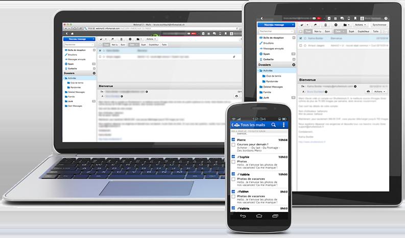Synchronisation des emails sur différents appareils